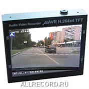 mAVR H.264x4 TFT