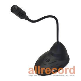 Настольный моно-микрофон, длина провода 0,8 м