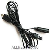 Выносной микрофон с компрессором (+/-6 дБ) и пультом ДУ для диктофонов серии Edic-mini LCD