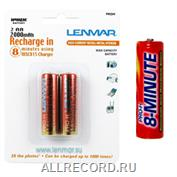 Комплект аккумуляторов NiMh AA 2000 mAh Lenmar PRO H 2 шт.