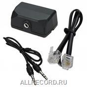 Адаптер телефонный для диктофонов с 3,5 мм входом