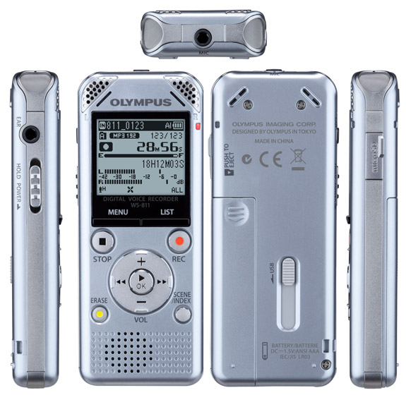 Olympus digital voice recorder recover files